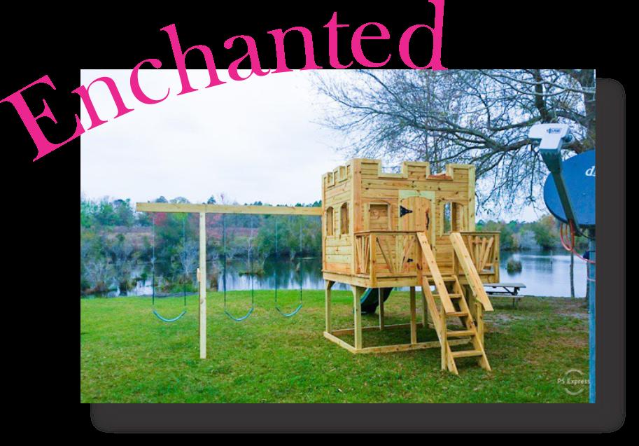 Enchanted Castle playset playhouse kids playhouse Customizable