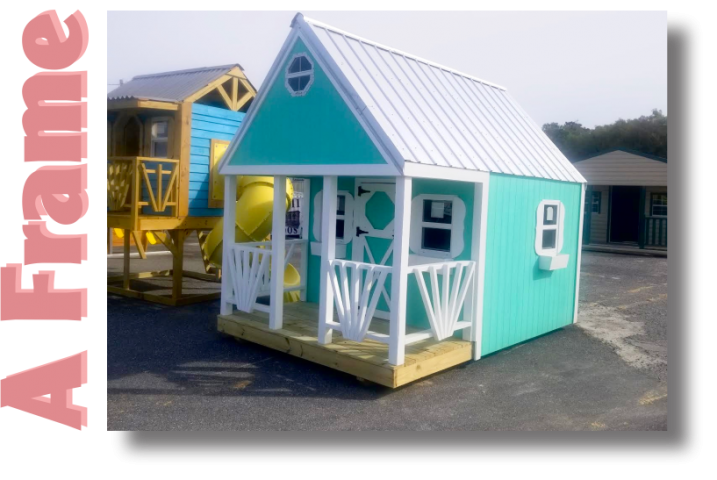 A Frame Cabin Playset Image