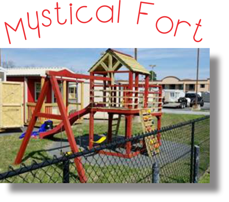 Playset Mystical Fort with Font and Name